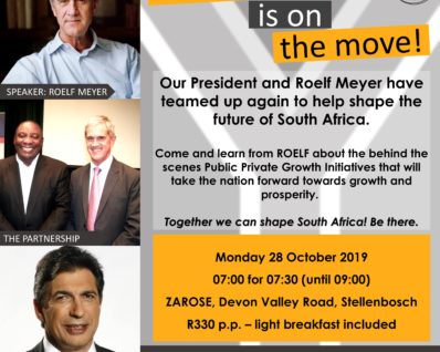 South Africa is on the move!